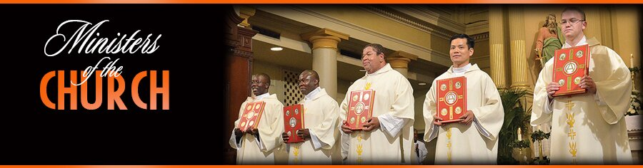 Ordained for God's service: